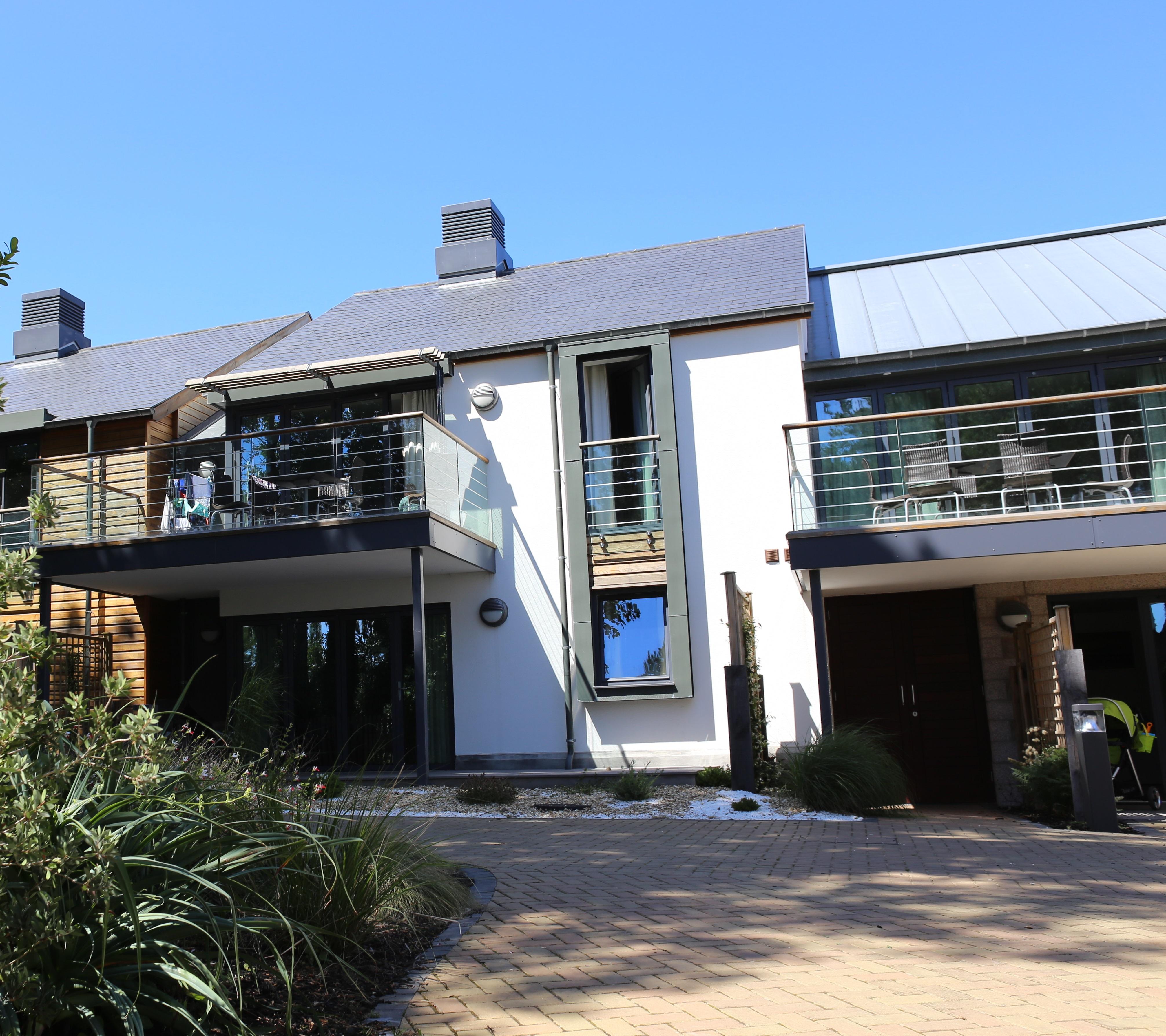 Garden Apartment: Les Ormes, Jersey